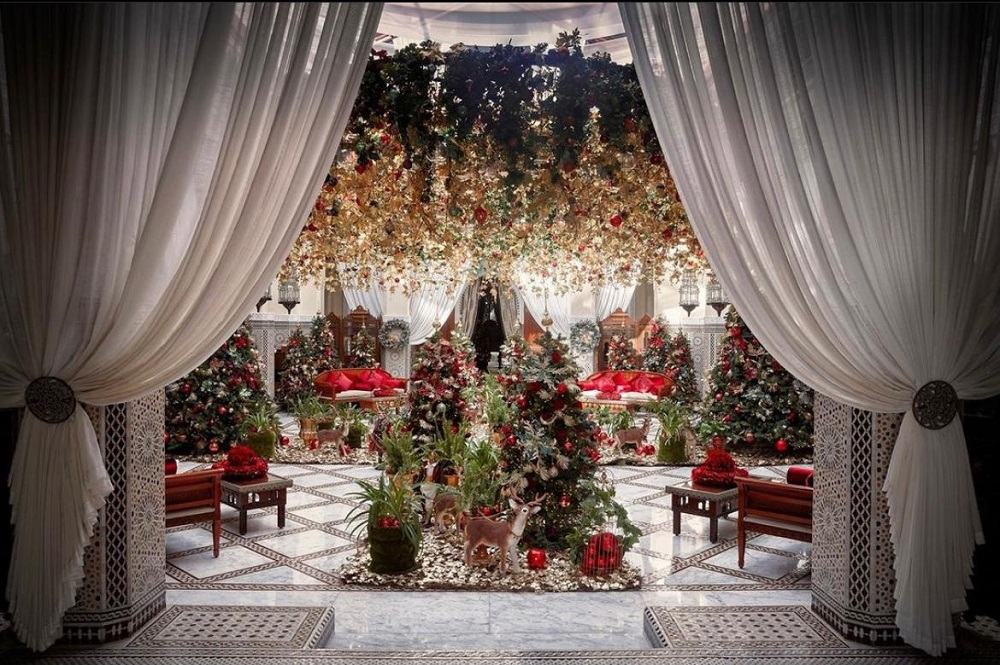 Royal Mansour Marrakech/Heavens Portfolio/飯店/聖誕佈置