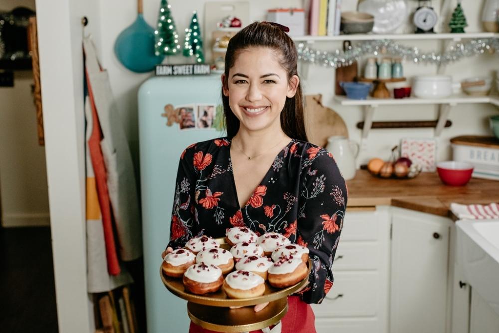 覆盆莓玫瑰夾心甜甜圈/茉莉/農村女孩料理趣/耶誕光明節/TLC旅遊生活頻道/美國