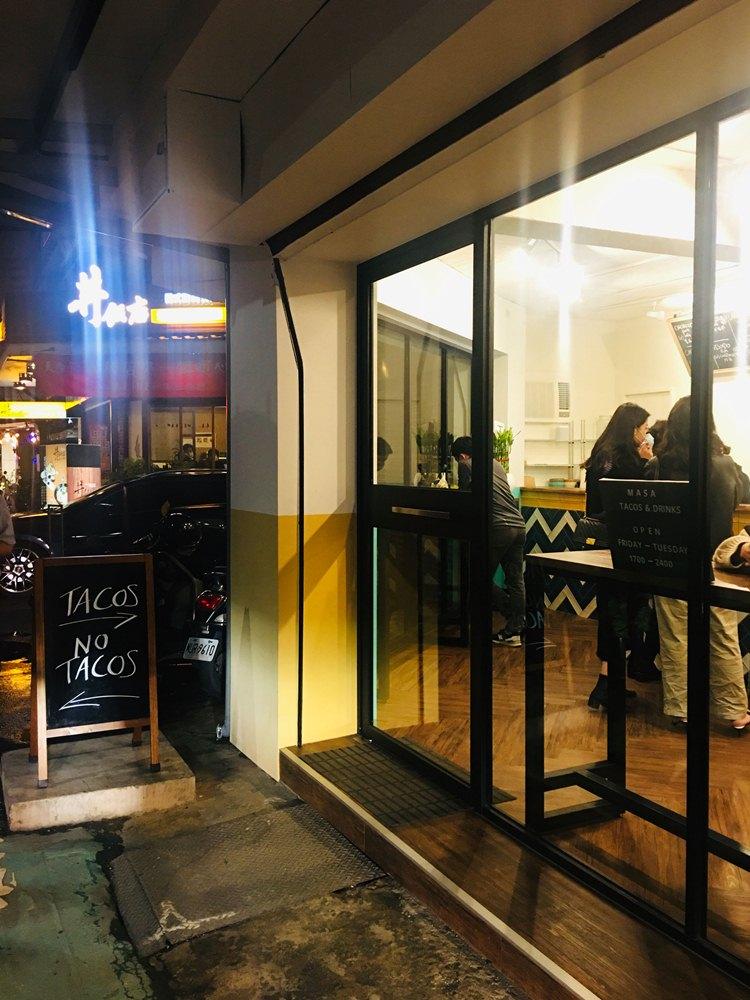 外觀/MASA/傳統Tacos 專賣店/餐廳/大安區/台北