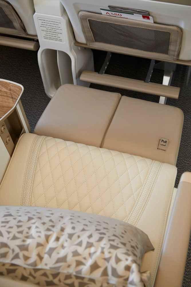 座位/豪華經濟艙/阿聯酋航空