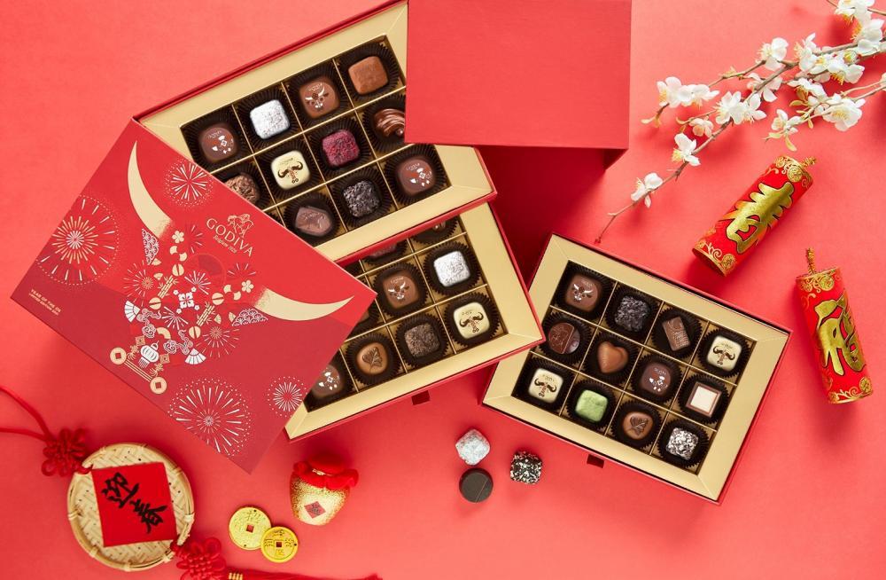 新年巧克力禮盒/GODIVA/牛年/生肖系列/台灣