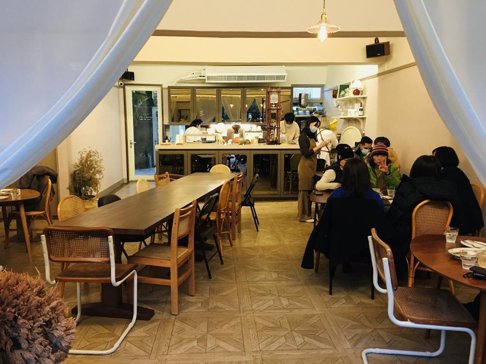 內部用餐空間/OOOO Studio/咖啡館/台北/台灣
