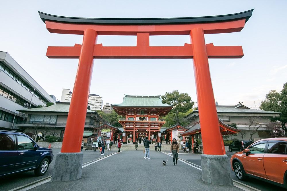 生田神社/神戶/日本
