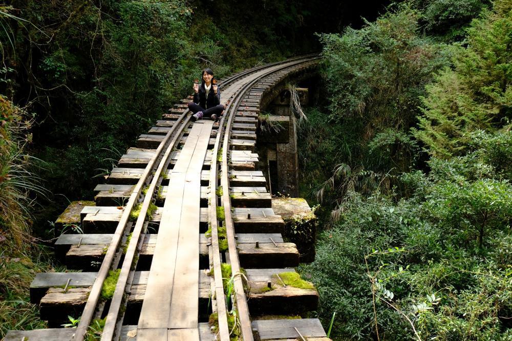 高空鐵道橋/眠月線/森林鐵道/步道/阿里山/嘉義/台灣