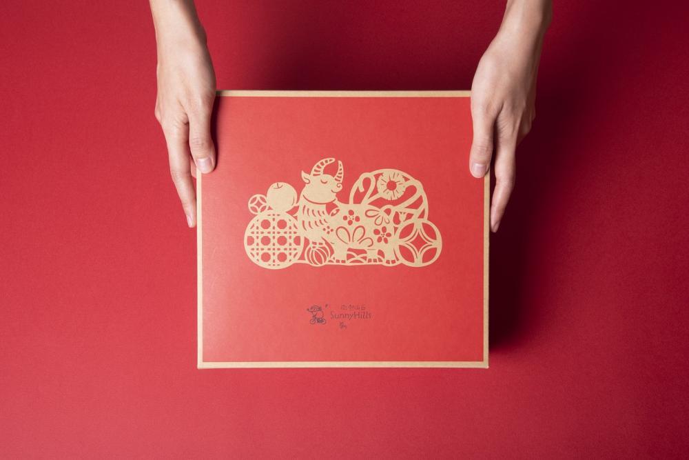 禮盒設計/鳳梨酥/微熱山丘/2021新年旺來禮盒/台灣