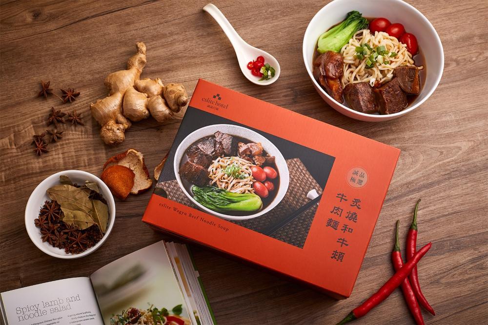 外盒/牛肉麵/誠品行旅/炙燒和牛頰牛肉麵賀歲禮盒/美食/台灣