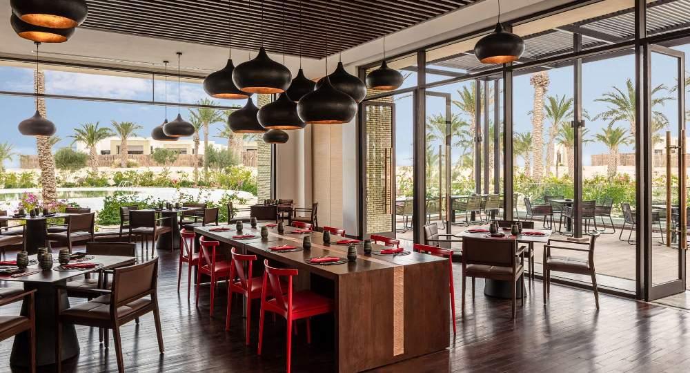 餐廳/Anantara Tozeur Resort/度假村/撒哈拉沙漠/托澤爾/突尼西亞/北非
