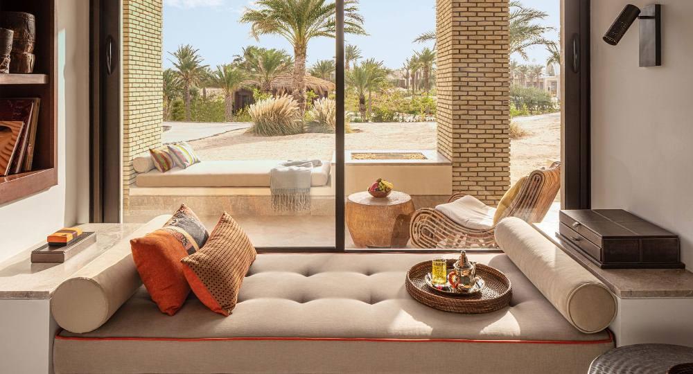 沙發/Anantara Tozeur Resort/度假村/撒哈拉沙漠/托澤爾/突尼西亞/北非