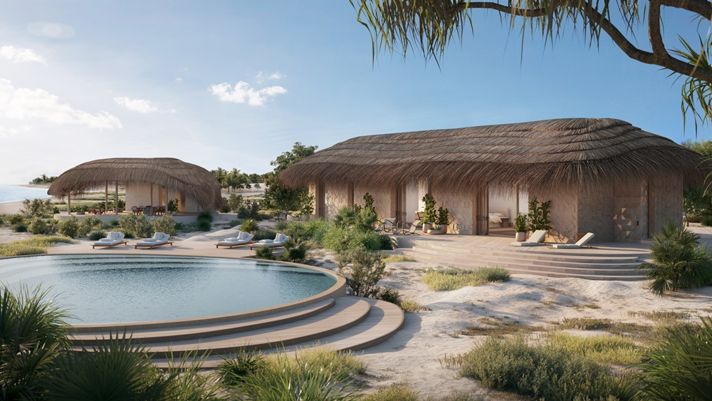 外觀/Kisawa Mozambique/度假村/2021開幕/非洲