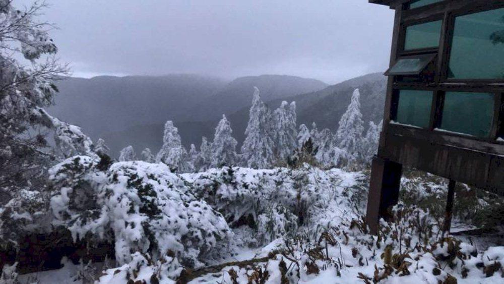 太平山國家森林遊樂區/雪景/台灣