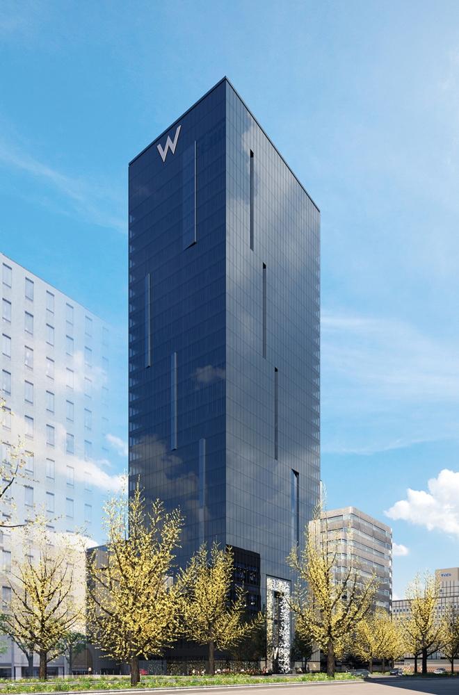 外觀/W OSAKA/飯店/萬豪國際酒店集團/2021開幕/大阪/日本