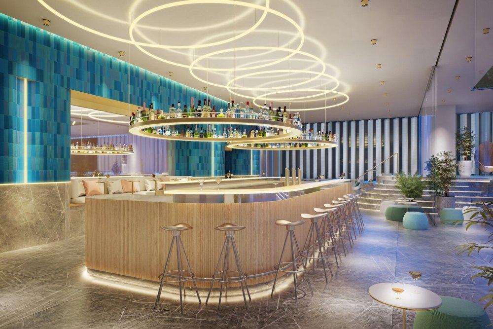 酒吧/W OSAKA/飯店/萬豪國際酒店集團/2021開幕/大阪/日本