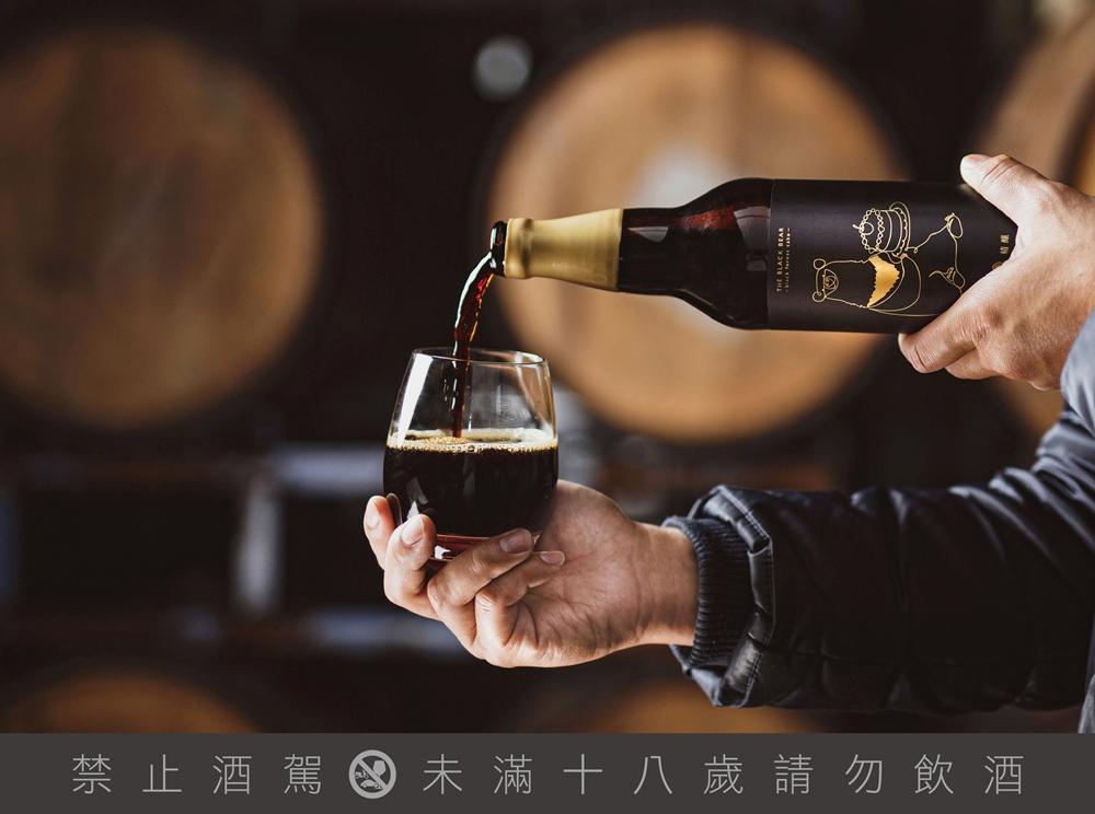 臺灣黑熊/波本/美酒/新春伴手禮/臺虎精釀