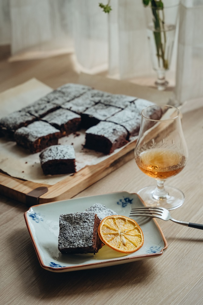 巧克力蛋糕/下酒菜/美食/台灣
