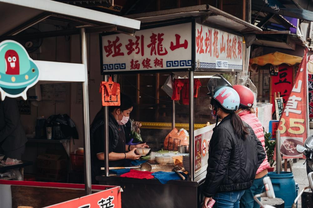 麵線糊/蚯蚓山龍山麵線糊/旅遊/鹿港/彰化/台灣