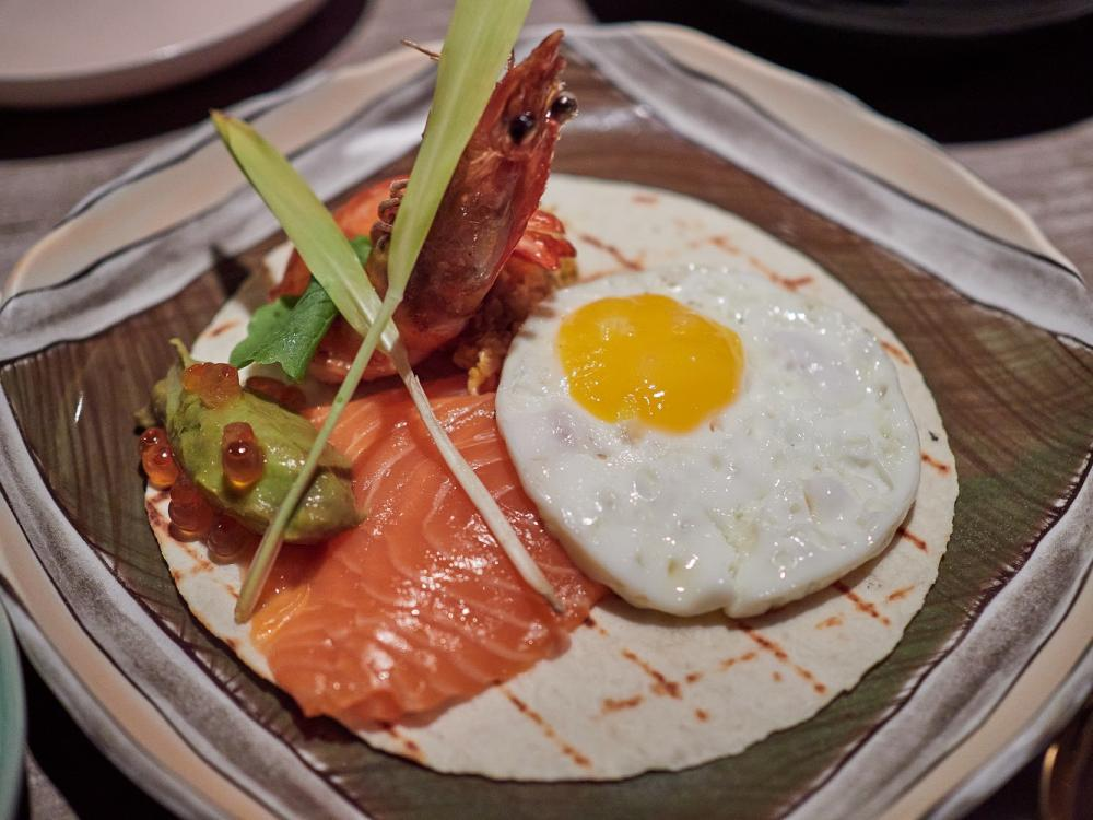 蝦鮭仙捲餅/Settle Taipei/創意餐酒館/美食/台北/台灣