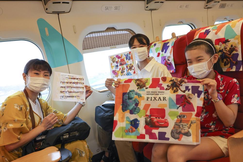乘客/皮克斯新幹線/鐵道/JR/九州/日本