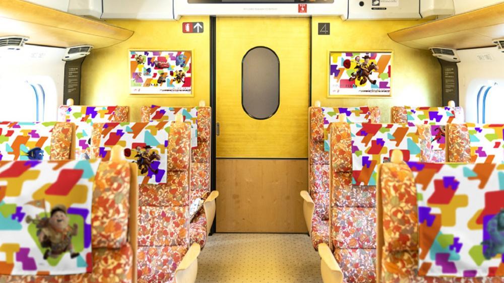 車廂內部/皮克斯新幹線/鐵道/JR/九州/日本