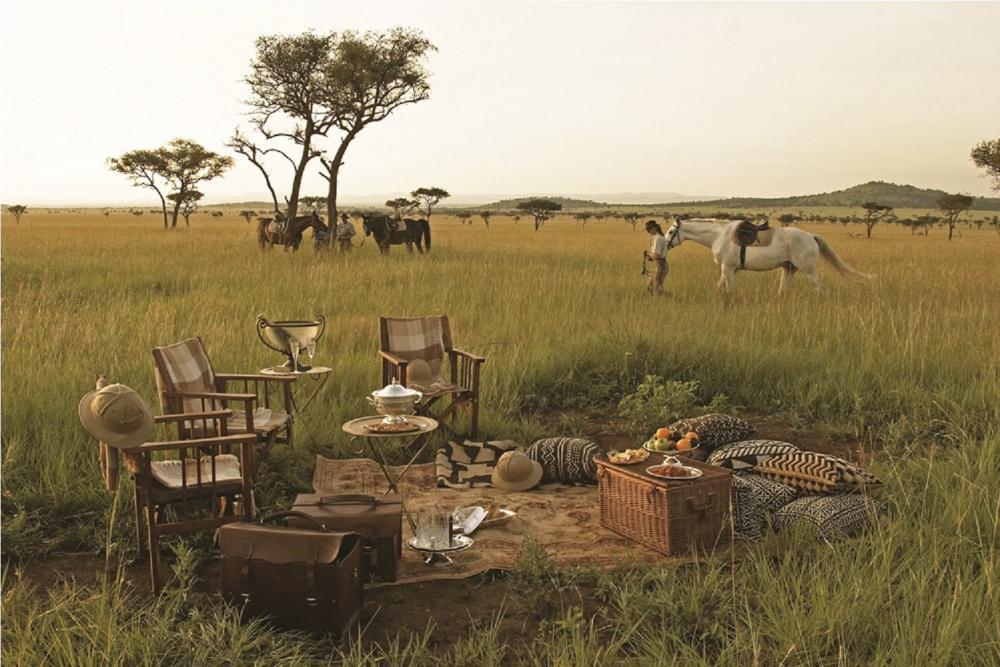 野餐/草原/Extraordinary Journeys/旅遊/肯亞/非洲