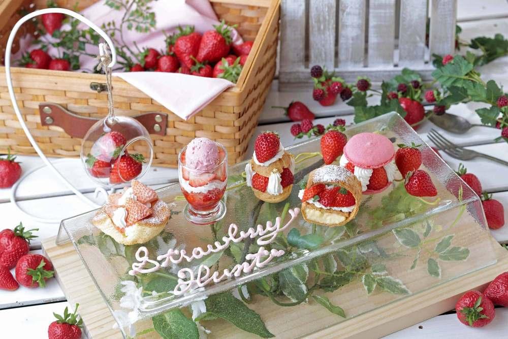 繽紛草莓派對/草莓甜點嘉年華2021/京都麗家皇家酒店/日本