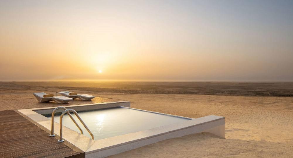 泳池/Anantara Tozeur Resort/度假村/撒哈拉沙漠/托澤爾/突尼西亞/北非