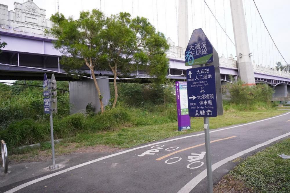 大漢溪左岸自行車道/旅遊/大溪/桃園/台灣