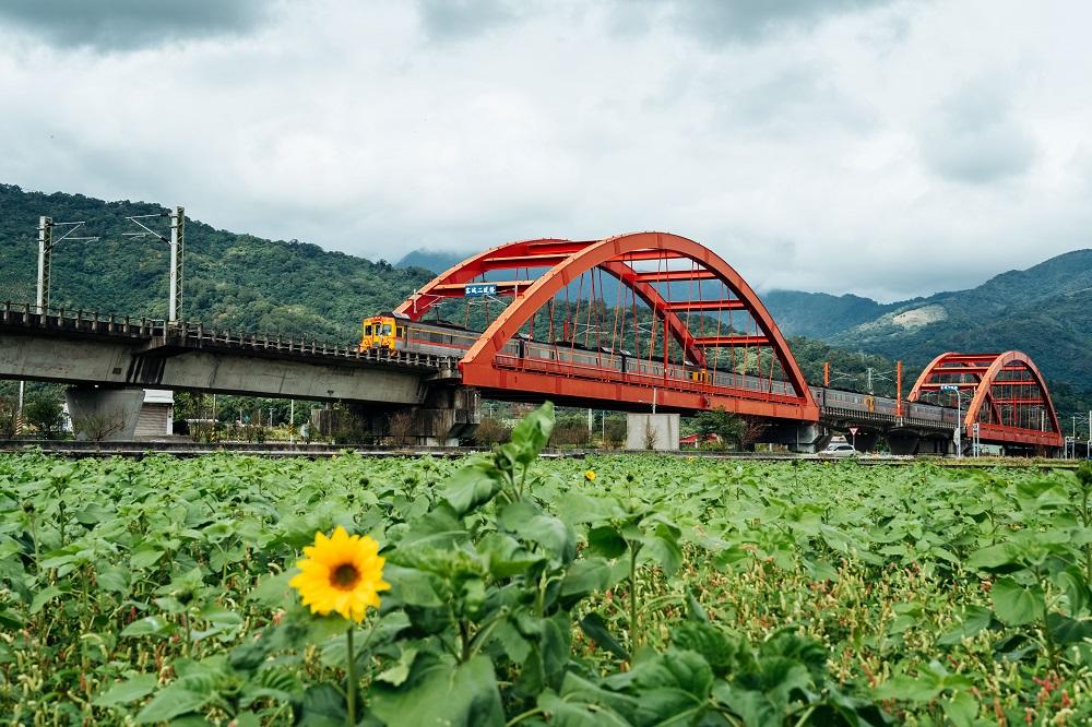 客城鐵橋/單車/旅遊/花蓮玉里/台灣