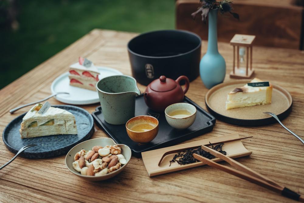 餐點/丘山茶/旅遊/中興新村/南投/台灣