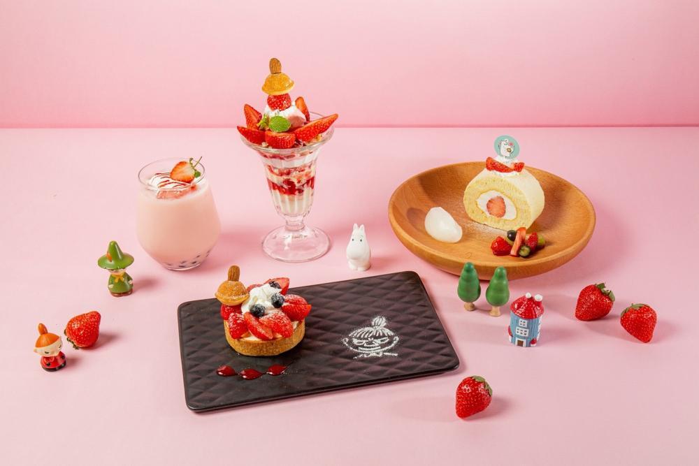 草莓季限定餐點/嚕嚕米主題餐廳/信義區/台北/台灣