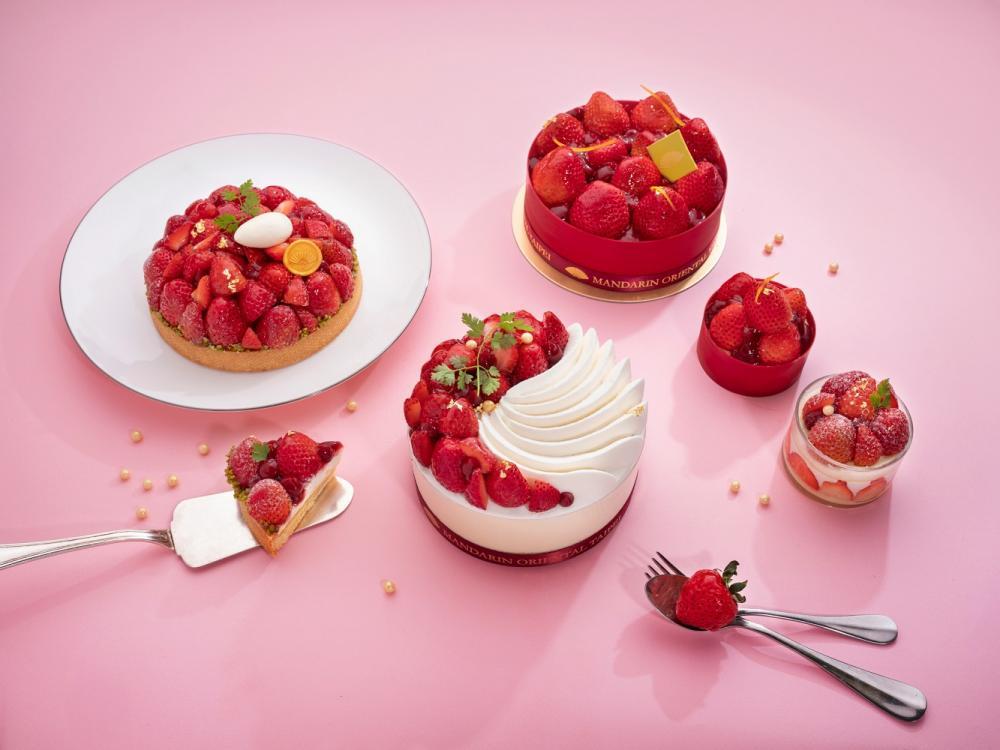 草莓季限定餐點/餐廳/期間限定/台北文華東方酒店/台灣