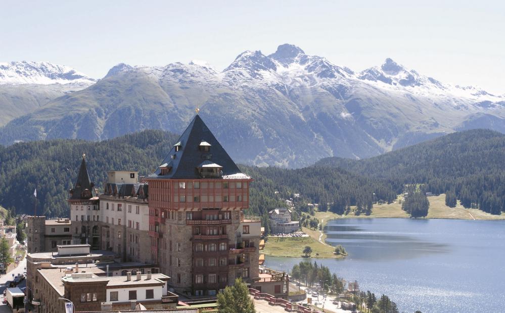飯店外觀/Badrutt's Palace Hotel/飯店/聖莫里茨山/瑞士