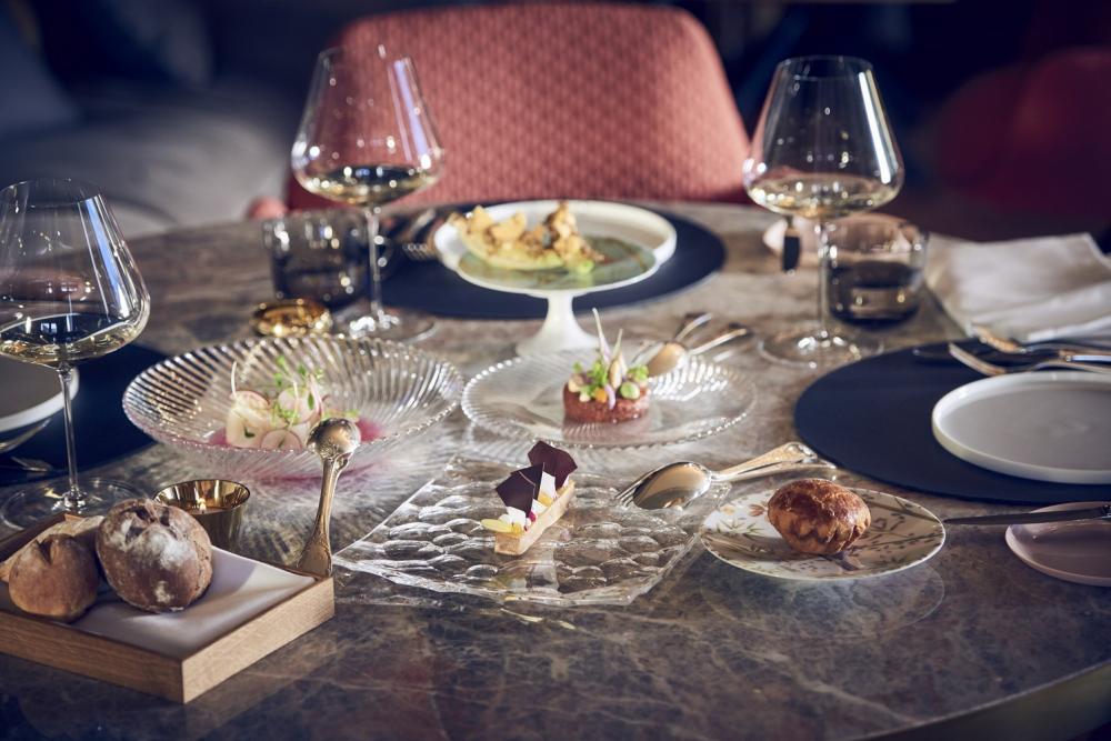 餐點/Badrutt's Palace Hotel/飯店/聖莫里茨山/瑞士