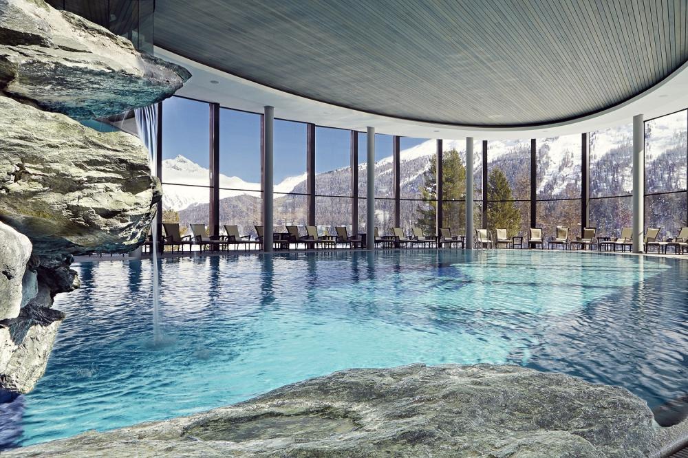 飯店設施/Badrutt's Palace Hotel/飯店/聖莫里茨山/瑞士