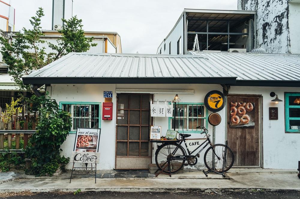 店外觀/Bike De Koffie 米貝果/單車/旅遊/台東池上/台灣