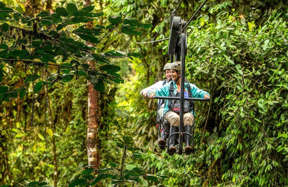 纜車/Mashpi Lodge/私人森林/旅館/厄瓜多
