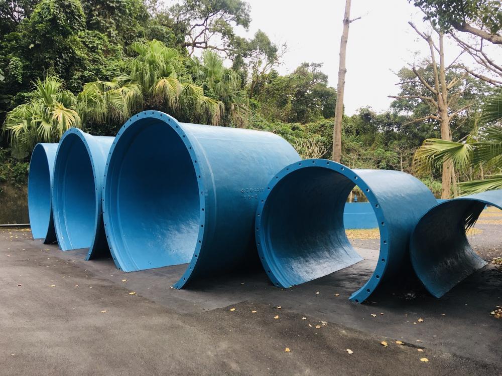 配水器材/觀音山蓄水池/旅遊/自來水園區/台北/台灣
