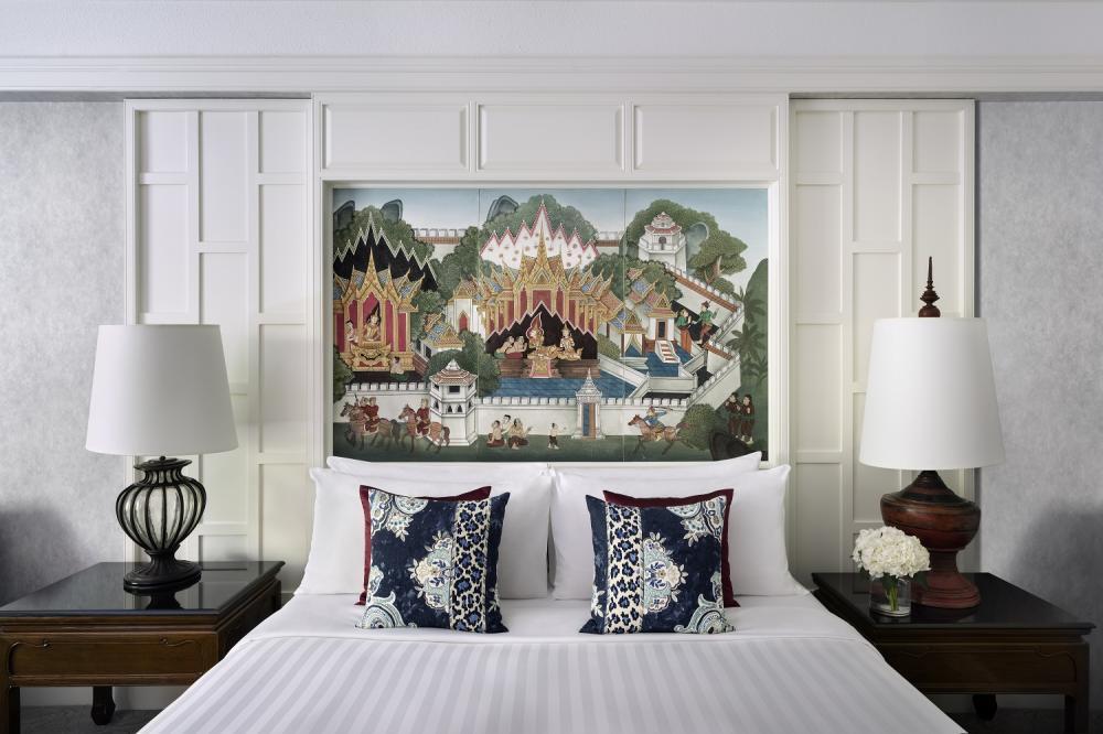 客房/暹羅安納塔拉酒店/奢華酒店/曼谷/泰國
