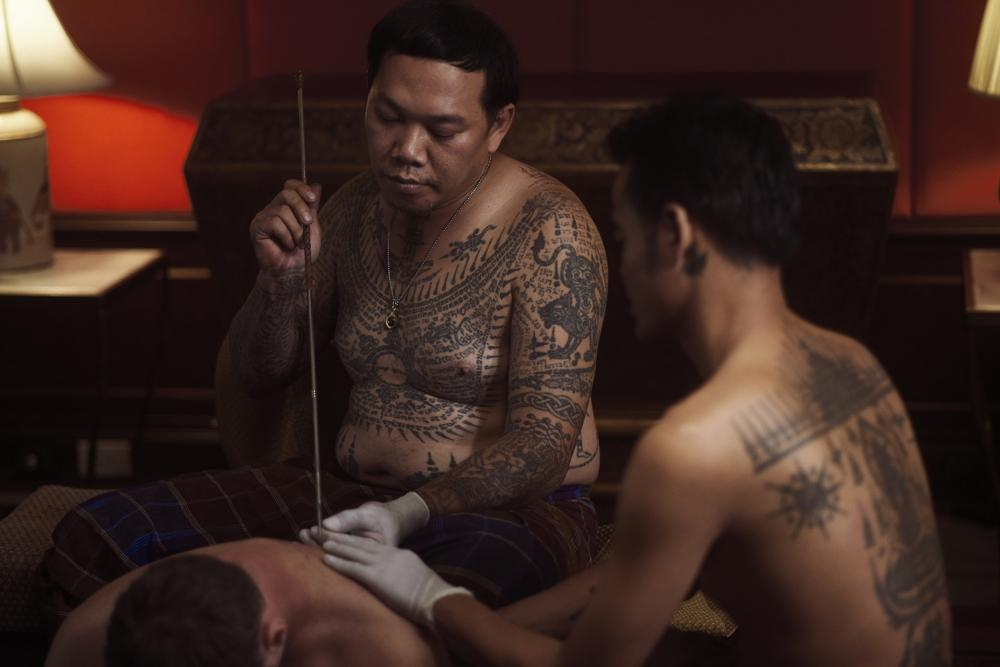 刺青行程/暹羅安納塔拉酒店/奢華酒店/曼谷/泰國