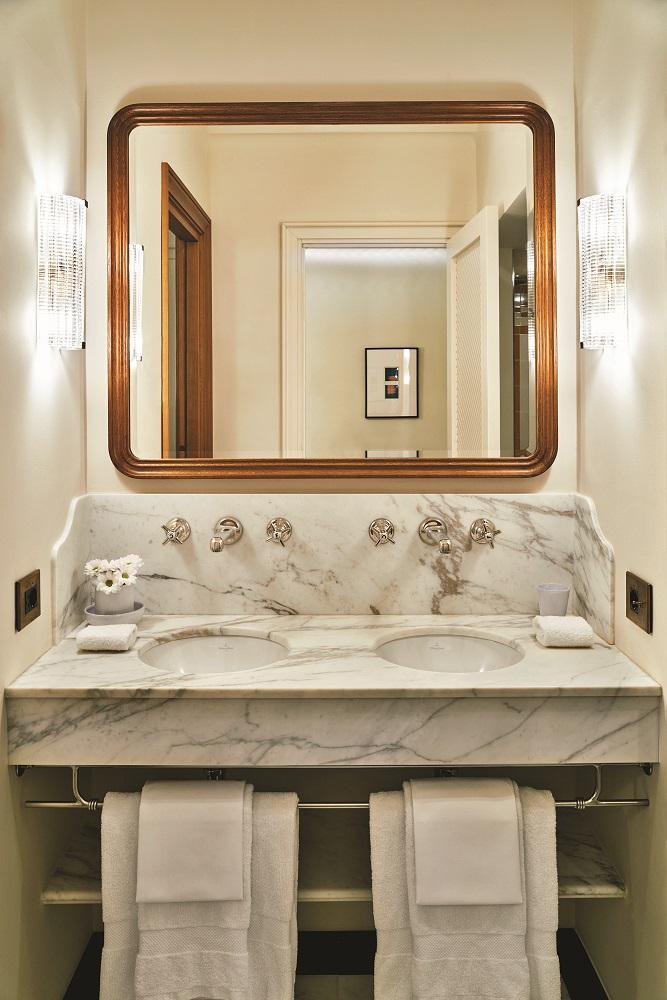浴室/Splendido Mare/酒店/波托菲諾/義大利