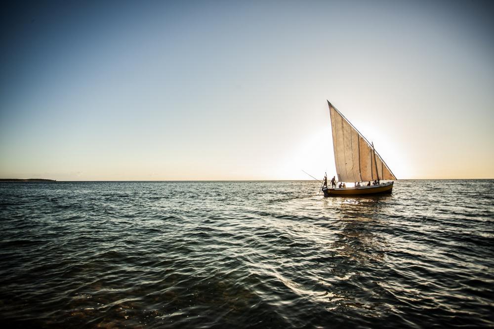 帆船/安納塔拉度假村/私人海灘/巴扎魯托島/東非