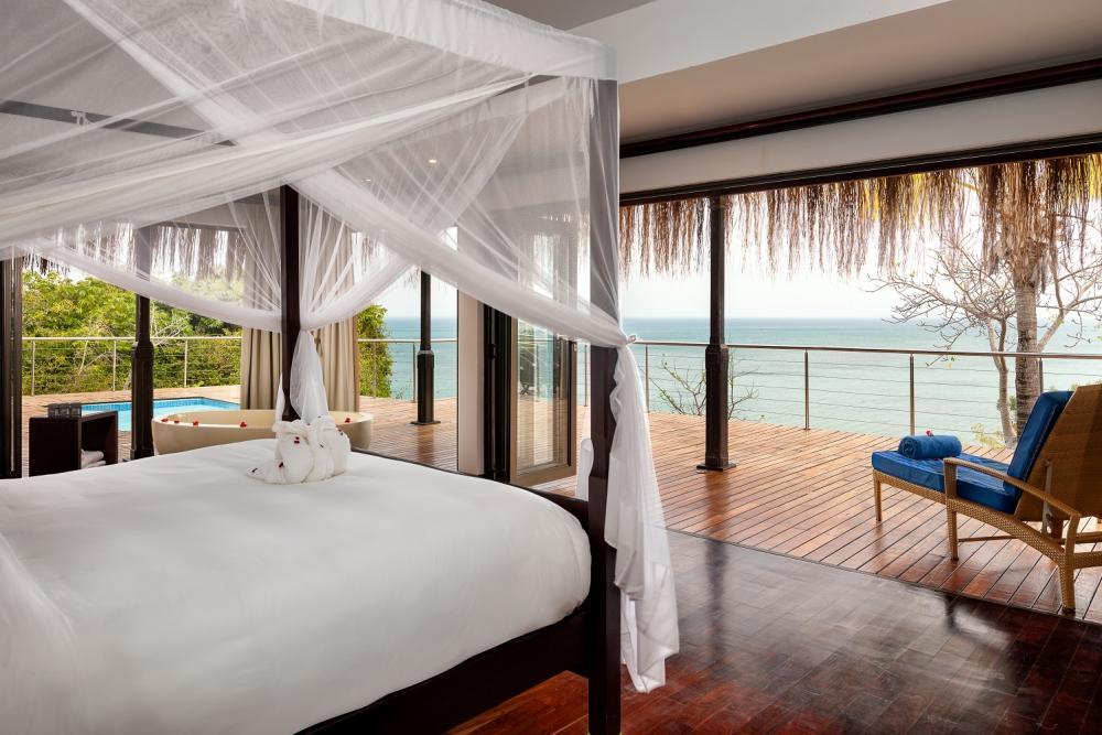 客房/安納塔拉度假村/私人海灘/巴扎魯托島/東非