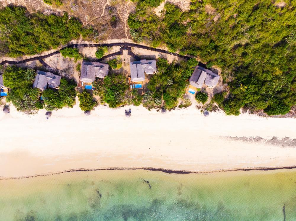 海灘/安納塔拉度假村/私人海灘/巴扎魯托島/東非
