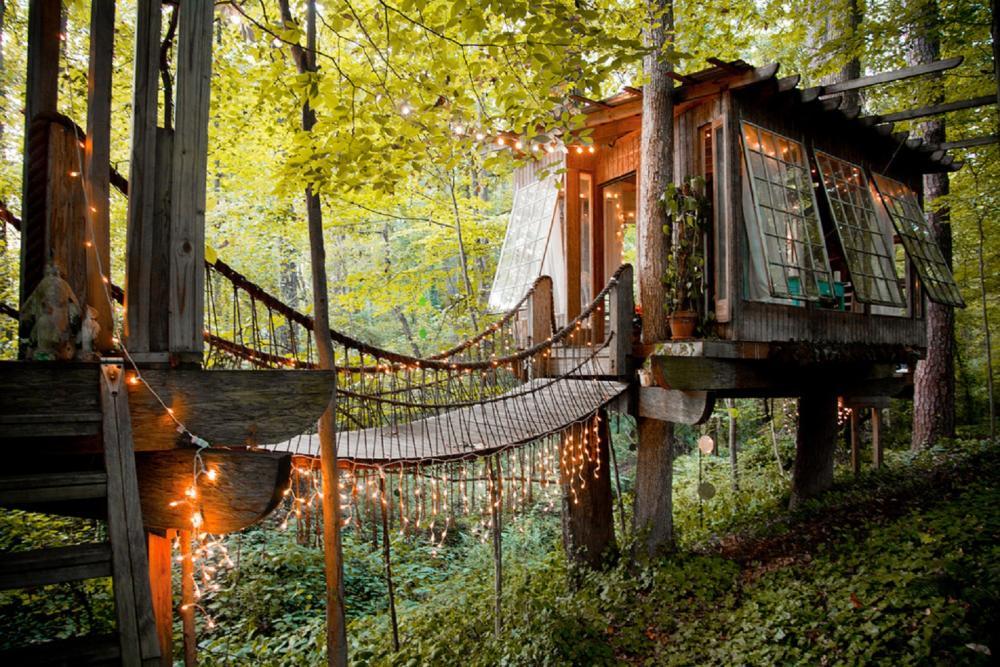 樹屋度假/Airbnb/喬治亞州/美國