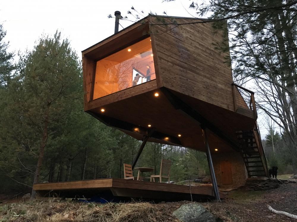 樹屋度假/Airbnb/紐約/ 美國