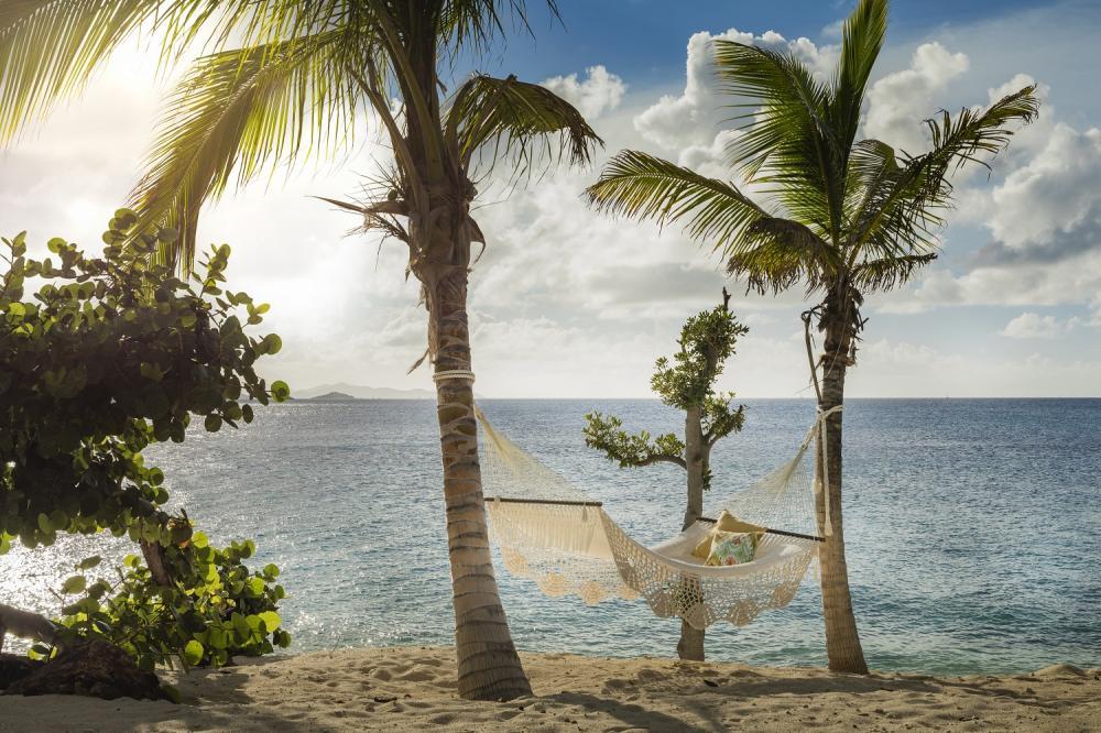 私人海灘/內克島/英屬維京群島