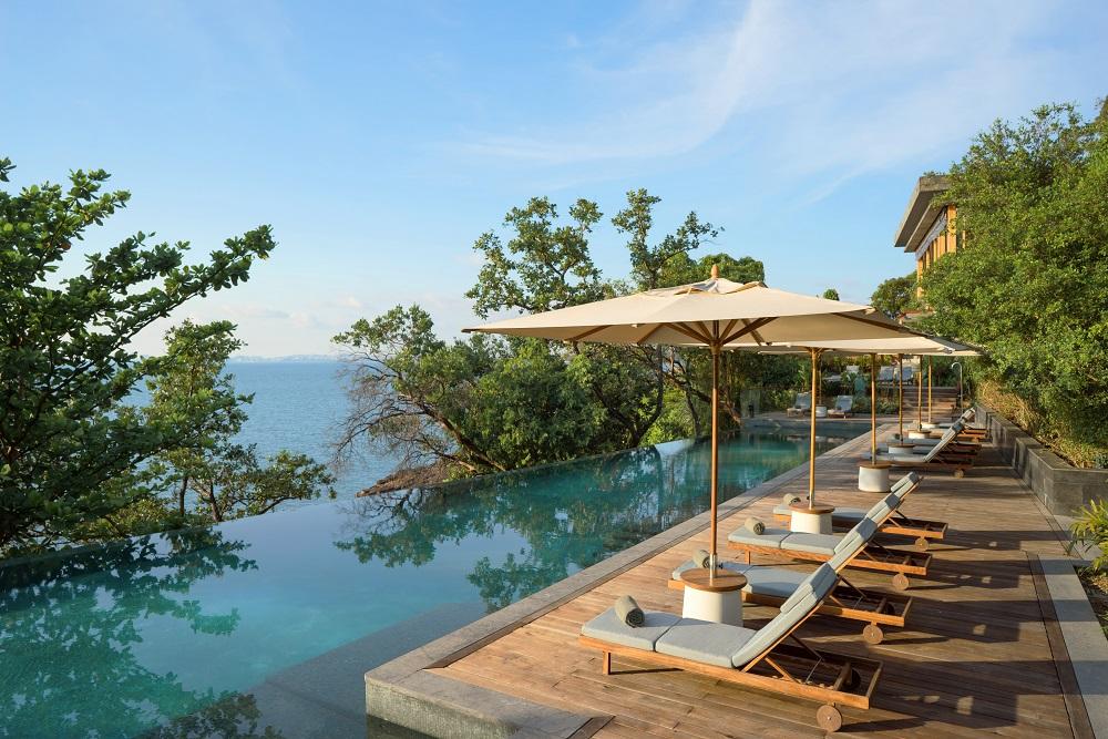 泳池/克拉貝島六善酒店/住宿/柬埔寨