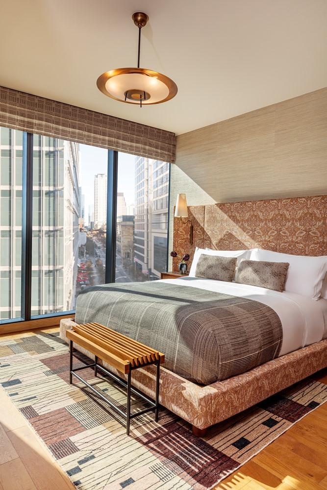 客房/空間/Austin Proper Hotel/德克薩斯州/設計飯店/奧斯丁/美國