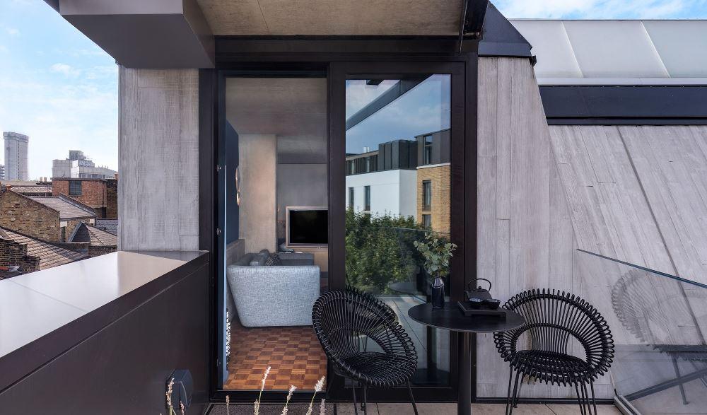 露臺/Nobu Hotel Shoreditch/英國/倫敦/Design Hotels/倫敦旅遊