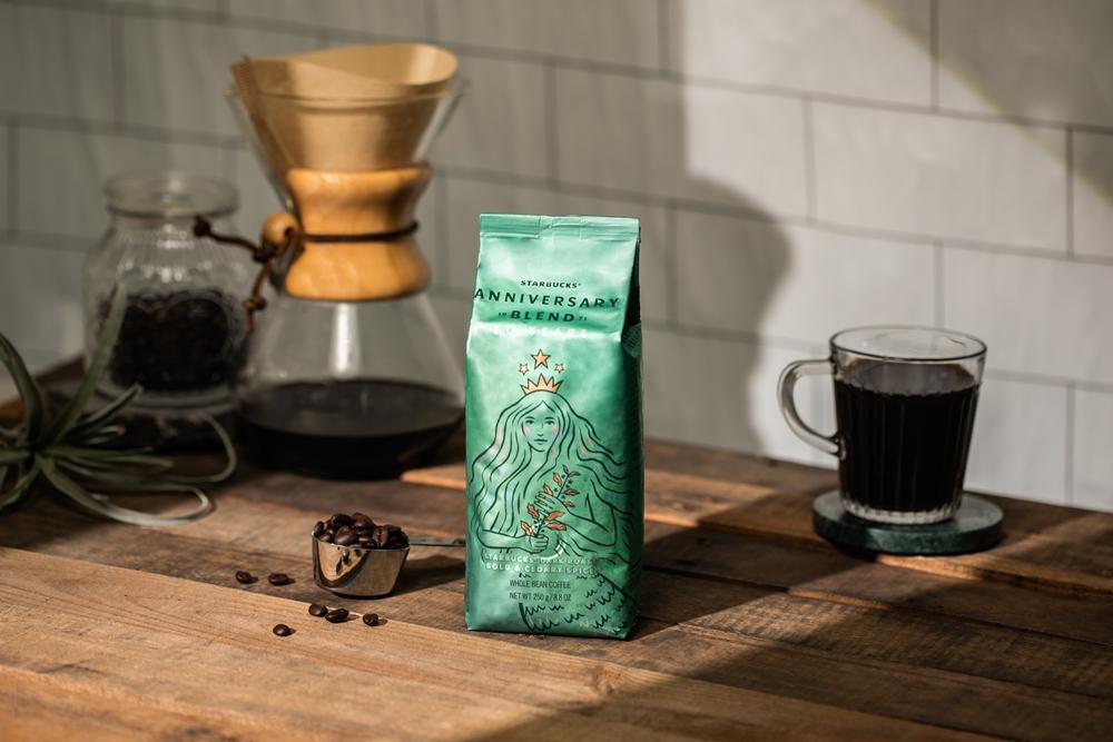 星巴克®週年紀念綜合咖啡豆 (50週年限定包裝)/星巴克/台灣