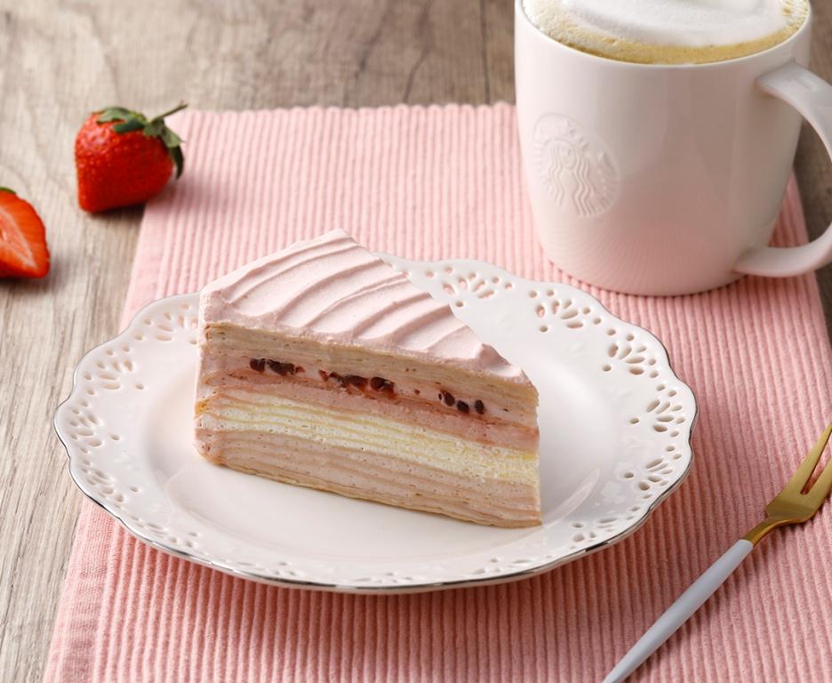 綜合莓果千層蛋糕/星巴克/台灣